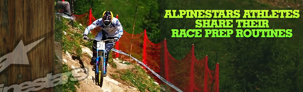 Alpinestars athletes share their race prep ro…