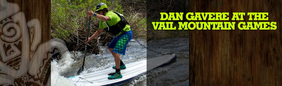 Dan Gavere at the Vail Mountain Games