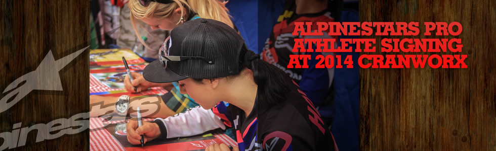 Alpinestars Pro Athlete Signing at 2014 Crank…