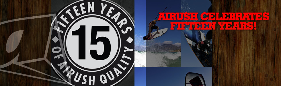 Airush Celebrates Fifteen Years