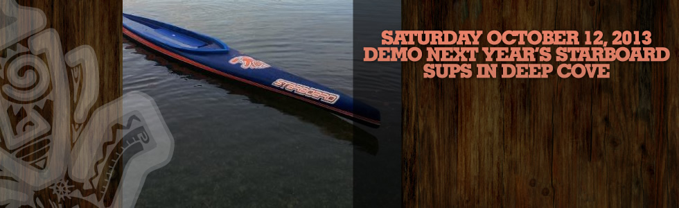 Demo Next Year's Starboard SUP Race Boards in…