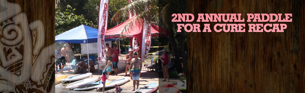 Second Annual Paddle for the Cure