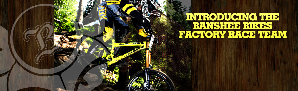 Introducing the Banshee Bikes Factory Race Te…