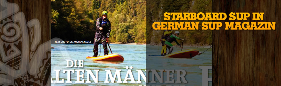 Starboard SUP in German SUP Magazin