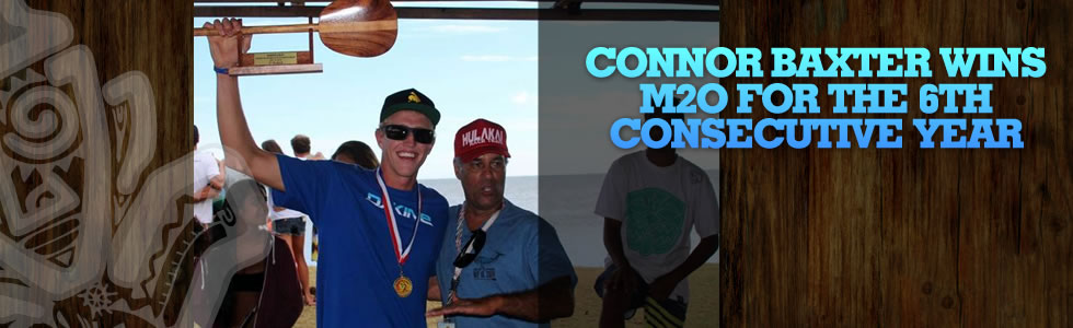 Connor Baxter wins M2O for the 6th consecutiv…