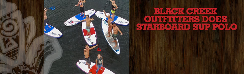 Black Creek Outfitters does Starboard SUP Pol…