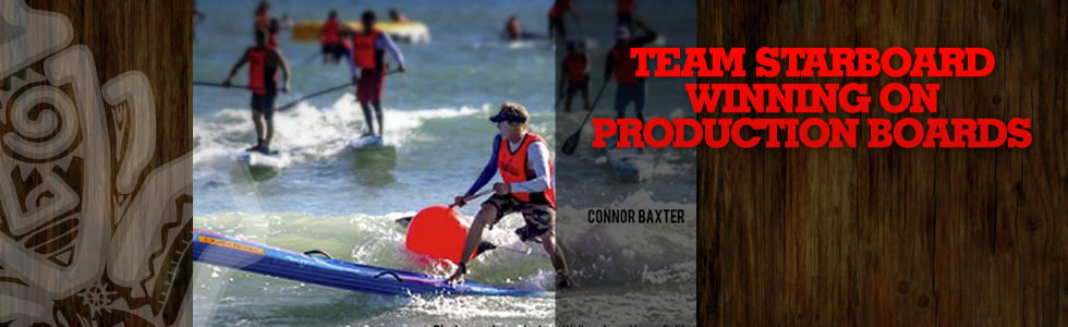 Team Starboard Winning on Production Boards