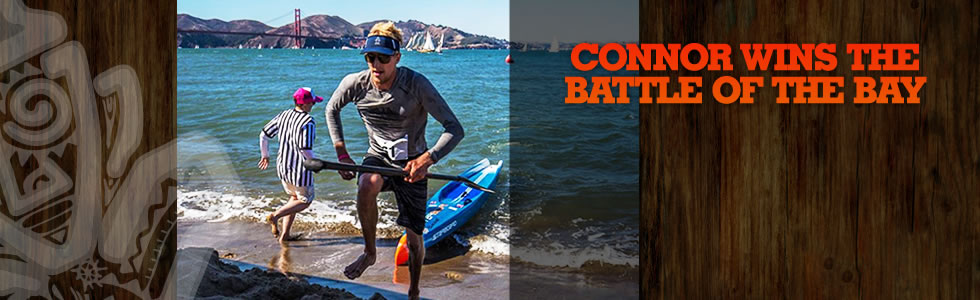 "Connor Wins the ""Battle of the Bay"""