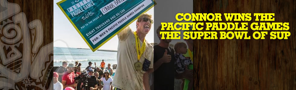 Connor Wins the Pacific Paddle Games The Supe…